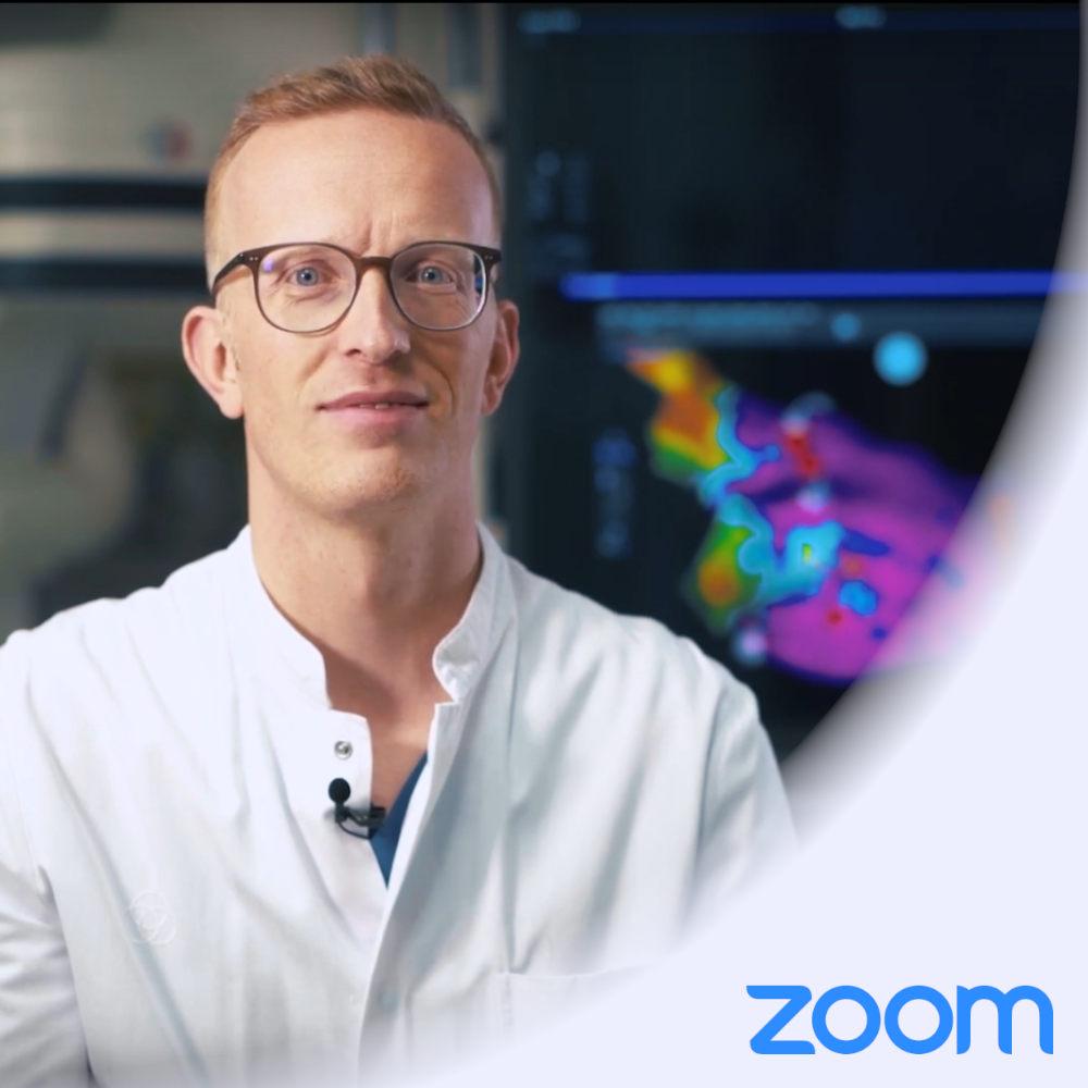 Anmeldung Zoom Vorhofflimmern